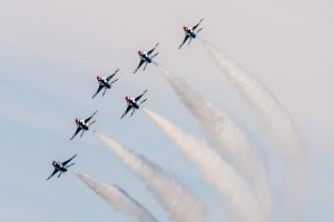 Thunderbirds Headline 11th Annual OC Air Show This Weekend
