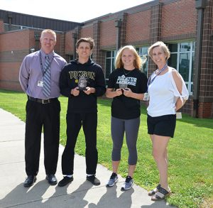 SD High School Sophomores Scafone And Engle Named May Premier Driving School Athletes Of The Month