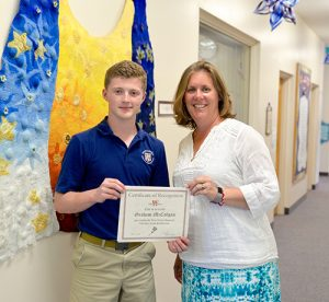 "McColgan Awarded Worcester Prep John ""Tres"" B. Lynch, III Lacrosse Camp Scholarship"