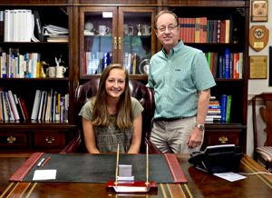 Worcester Prep 10th Grader Ashley Laws Acts As Headmaster For A Day