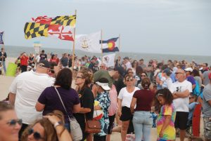 Thousands Gather On Beach For Softball World Series Event