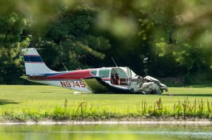 Preliminary Report Indicates Plane Lost Power Before Golf Course Landing