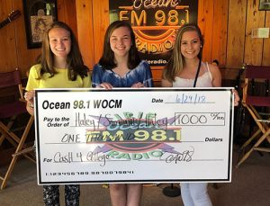 Three High School Seniors Awarded $1,000 Each Through Ocean 98 Cash For College Fund