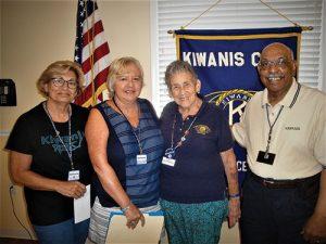 Kiwanis Club Of Greater Ocean Pines-Ocean City Welcomes Newest Member
