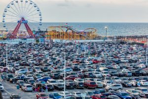 Downtown Gridlock Ensues Once Again After Fireworks; OC Parking Lot Filled To Capacity By 10 A.M. On Fourth
