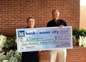 Bank Of Ocean City Raises $780 Benefiting Diakonia Through Shred-It Day
