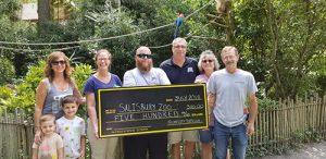 OC Jeep Club Donates $500 To Salisbury Zoo