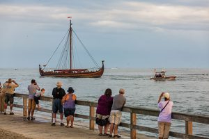 Replica Viking Ship Begins Eight-Day Stay In Ocean City