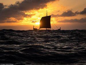 Replica Viking Ship Arrives Next Week