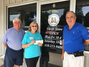 Ocean Pines Golf Club Donates To Worcester County Humane Society