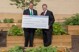 Merrill Lynch/Bank Of America Presents Wor-Wic With $5,000 Check