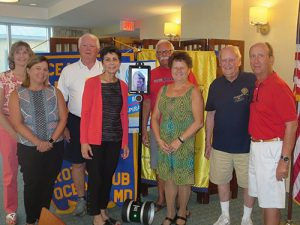 Digital Learning Coordinator For Worcester County Public Schools Guest Speaker At Ocean City-Berlin Rotary Club Meeting