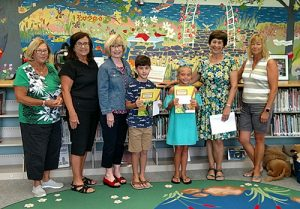 Worcester County Federated Garden Club Present Awards To Youth Summer Reading Contest Winners
