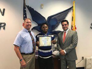 Waters Named This Week's Bank Of Ocean City MVP For SD Varsity Football