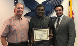 Drummond Named This Week's Bank Of Ocean City MVP