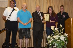 Local Honored With Award For Lifesaving Actions