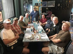 Retired Law Enforcement Officers Meet At General's Kitchen For Reunion