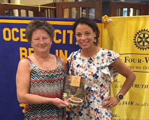 Ocean City-Berlin Rotary Club Welcomes President Of Minds In Motion Children's Museum As Guest Speaker