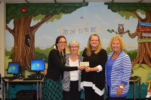 Republican Women Of Worcester County Make Monetary Donation To Showell Elementary