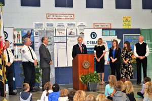 Comptroller Visits OC Elementary For Leadership Day