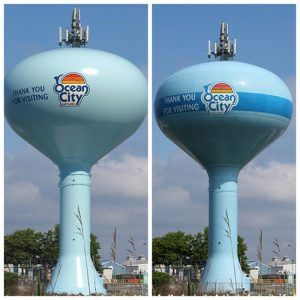 Ocean City Water Tower Paint Job Decided