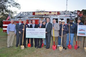 Berlin Fire Company Breaks Ground On New Route 50 Station