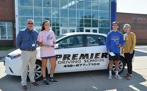 Figgs And Berquist Named SD High School Premier Driving School September Athletes Of The Month