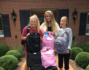 Worcester Prep Seniors Collect Backpacks And School Supplies To Donate To Students At Buckingham Elementary And Berlin Intermediate School