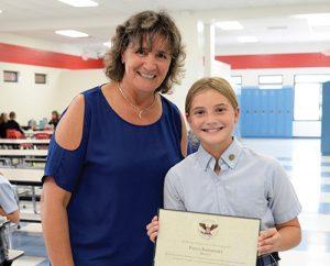 Paige Barnhart Presented With Bronze President's Volunteer Service Award From Ocean City Aquatics