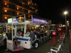 City Council Opts To Continue Boardwalk Tram Ads