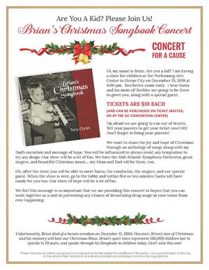 Brian's Christmas Songbook Concert Returns To OC Dec. 15