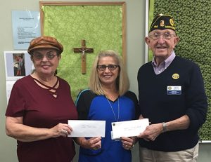 Synepuxent American Legion And American Legion Auxiliary Of Ocean City Donate To AGH Community Flu Clinics