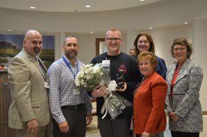 Guy Gross Awarded AGH DAISY Award For Excellence In Nursing