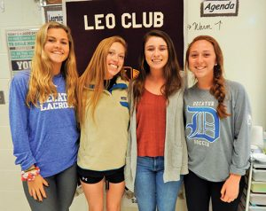 Ocean City/Berlin Leo Club Installs New Officers For 2018/2019 Year