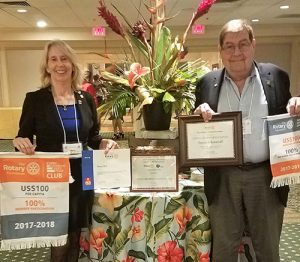 Snow Hill Rotary Club Receives Multiple Awards At Annual Rotary Foundation Dinner