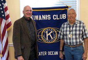 Lowell Hoffman Guest Speaker At Kiwanis Club Meeting