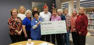 Star Charities Donates Proceeds Of Western Night To Marine Corps League