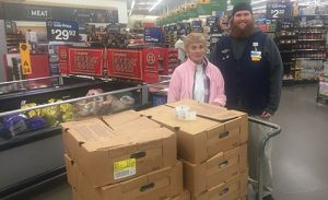 Walmart And Kiwanis Club Work Together Providing Holiday Turkeys For Diakonia