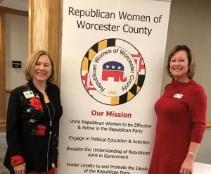 Jody Rushton Welcomed As Guest Speaker At Republican Women Of Worcester County Annual Dinner Meeting