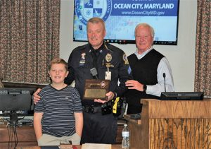 Retiring Sergeant Celebrated After 28 Years With OCPD
