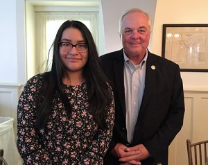 SD High School Senior Michelle Hernandez Named Worcester County Youth Volunteer Of The Year