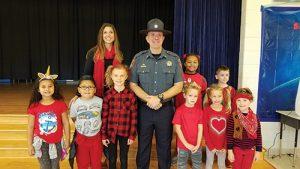 Worcester County Sheriff-Elect Matt Crisafulli Visits OC Elementary School