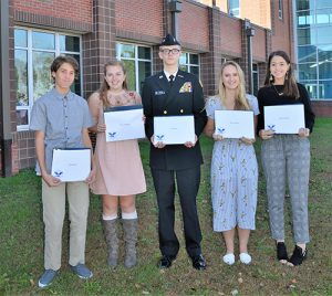 SD High School Students Boyle, Donahue, Bean, Hunter And Al-Hamad Receive Presidential Service Gold Award