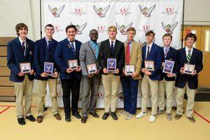 Worcester Prep Varsity Boys Fall Sports Award Winners Named