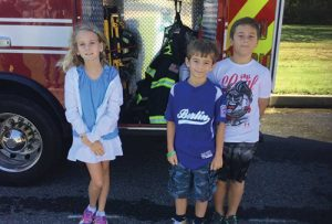 Fourth Graders At OC Elementary Excited To Have OC Fire Department Visit Their School