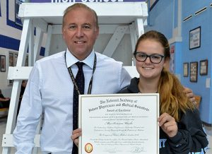 SD High School Junior Brianna Wesche Commended For Outstanding Participation In National Academy Of Future Physicians And Medical Scientists