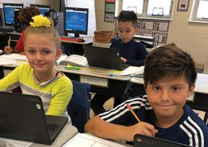 Fourth Grade Students At OC Elementary Research Maryland's Government