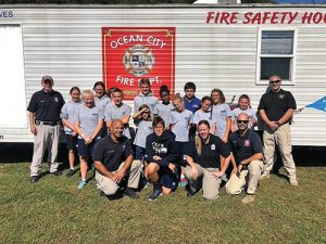 Seaside Christian Academy Students Celebrate Fire Safety Week