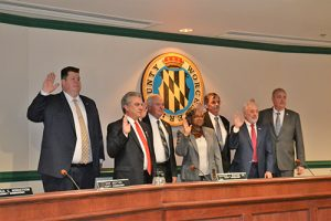 Commissioners Sworn In For Next 4 Years; Purnell Will Continue Serving As President