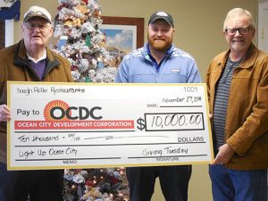 Ocean City Development Corporation And Downtown Association Thank Donors Who Contributed To Giving Tuesday